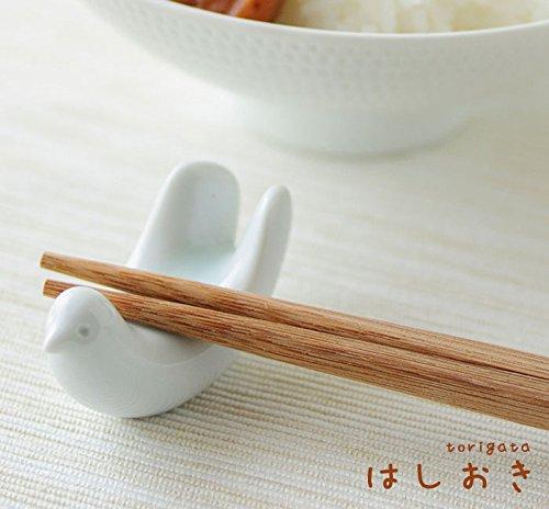波佐見焼 白山陶器 とり型はしおき 5.5cm haku-hashi-tori