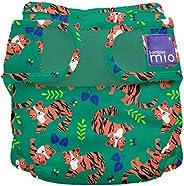 Bambino Mio, mioduo Cloth Nappy Cover, Tiger Tango, Size 2 (9kgs+)