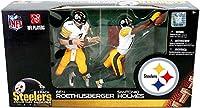 マクファーレントイズ NFL 2パック B.ROETHLISBERGER & S.HOLMES