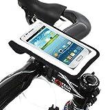 [正規品] 【BM WORKS】SLIM3 (白, L) 自転車用 スマートフォン ホルダー iPhone 5・4S・4・3GS, Galaxy S3・S2・S・NOTE・NOTE 2 マルチケース