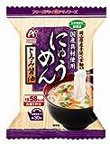 アマノフーズ にゅうめん とろみ醤油 14g×4個