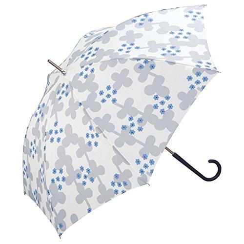 w.p.c(w.p.c) 【長傘】クローバー/軽くて丈夫で持ちやすい(レディース雨傘)【オフホワイト/58】