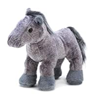 WebkinzグレーArabian Horse Plush Toy with Sealed Adoptionコードby Webkinz