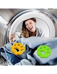 明安2ピースクリーニングボール洗濯機脱毛装置ペット理髪服脱毛器ドライヤーペット脱毛パッド再利用可能