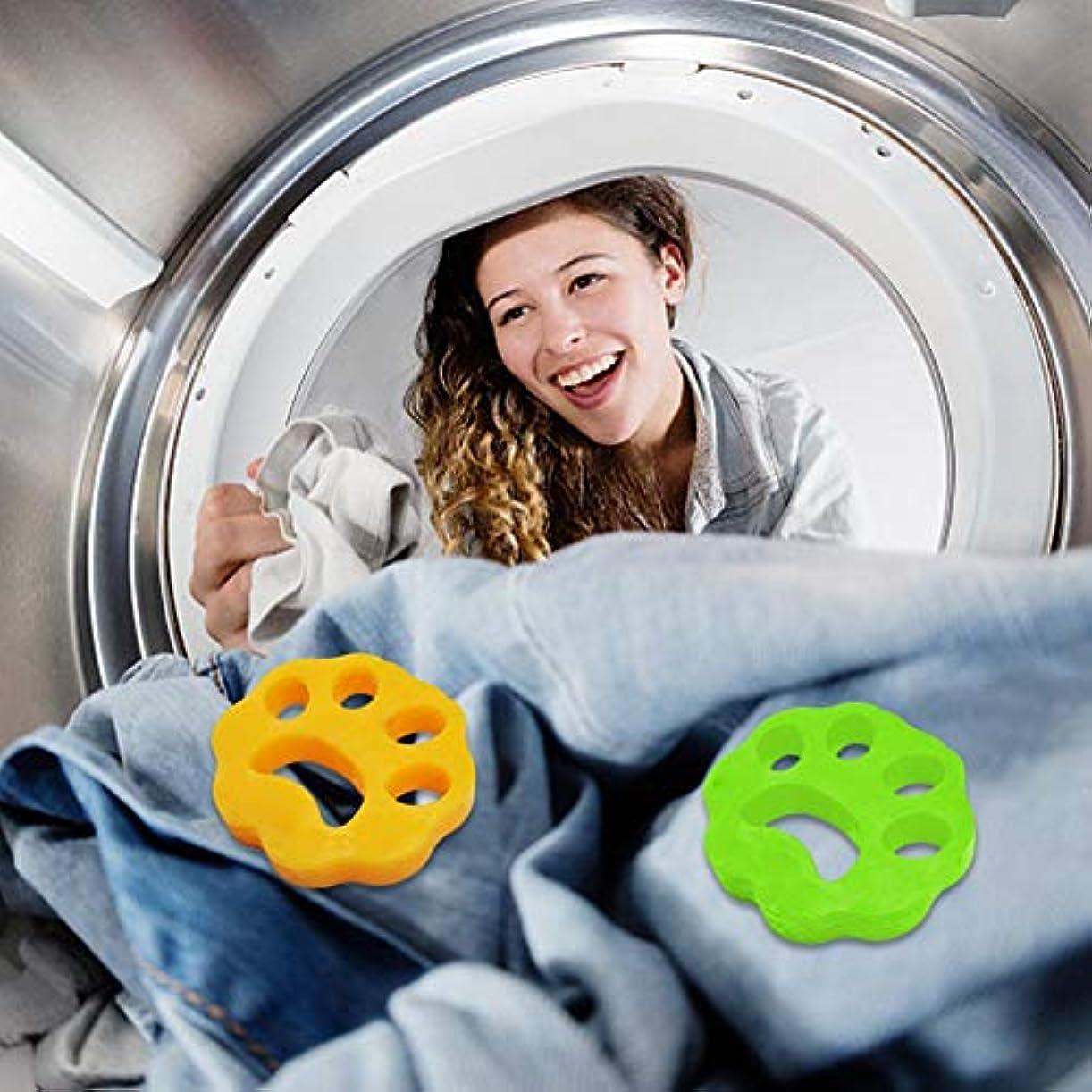 脅かす現実的流明安2ピースクリーニングボール洗濯機脱毛装置ペット理髪服脱毛器ドライヤーペット脱毛パッド再利用可能