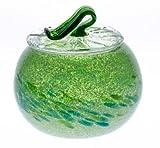 泡カレット菓子入れ 緑