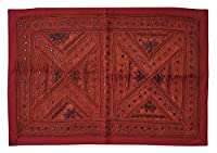 Lalhaveli Traditional Cotton Wall Decor Hanging for Housewarming Gift 66 x 94 Cm