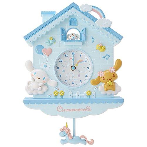 シナモロール デコラティブ振り子時計の詳細を見る