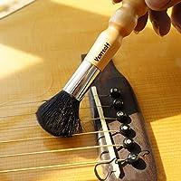MoToNa ギター クリーナー 弦楽器 用 ダストブラシ ホコリ取りブラシ