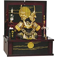 五月人形 兜収納飾り 収納兜飾り 昇龍 GOH-502220 平安豊久 GC-126