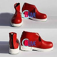 ●●サイズ選択可●●I0295ZCI コスプレ靴 ブーツ 史上最恐の美術館【実況】Ibイヴ Ib イヴ 女性23.5CM