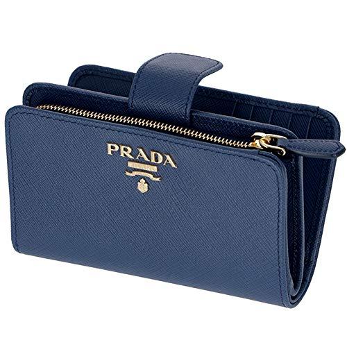 c819d2d9fe2a PRADA(プラダ) 型押しカーフスキン 二つ折り財布 1ML225 QWA 016 [並行