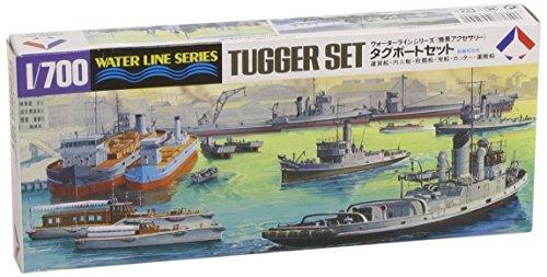 タミヤ 1/700 ウォーターラインシリーズ No.509 情景アクセサリー タグボートセット プラモデル 31509