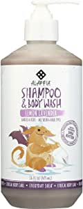 Alaffia Everyday Shea Shampoo & Body Wash for Babies and Up Lemon Lavender 16 oz Size: 16 oz CustomerPackageType: Standard Packaging, Model: C580, Baby & Child Shop by Baby & Child Shop
