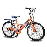 前部ディスクブレーキおよび後部ディスクブレーキが付いている子供のバイク20インチの自転車,Orange