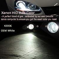 FidgetGear Xenon Replacement Lights HID 55W Ki For Ford F-250 F-450 F-550 H13 5202 H10 Z1 Factory Color (4300K) 9012 (H1R)