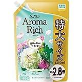 「【大容量】ソフラン アロマリッチ 柔軟剤 ソフィア(ピュアフローラルアロマの香り) 詰め替え 1210ml」のサムネイル画像