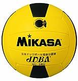 ミカサ ドッジボール 公認球 2号 低学年用公認球 小学校用 MGDB2J Y/BK