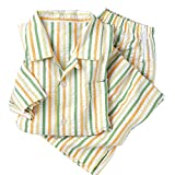 (セシール)cecile 綿100%シャツパジャマ(男女兼用)
