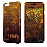 ライセンスエージェント デザジャケット STEINS;GATE 0 iPhone 6/6sケース&保護シート デザイン01 DJGA-IPSG-m01