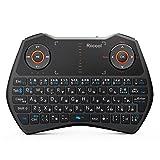 Riitek Riicool ミニ キーボード RT-MWK28BT Bluetooth 3.0 タッチパッド搭載 日本語配列 キーボード マウス 一体型 USBレシーバー バックライト付き