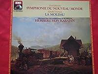 "Dvorak ""New World"" Symphony, Smetana Vltava - Antonin Dvorak / Bedrich Smetana - Herbert Von Karajan, Berliner Philharmoniker LP"
