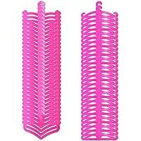 バービー人形Clothes Hangers、AOFul Mini SamllサイズHanger人形Accessories forバービーand 11.5 inch-12