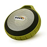 Zinx 防水 アウトドア ブルートゥース ワイヤレス スピーカー Bluetooth Speaker カラビナ付き black