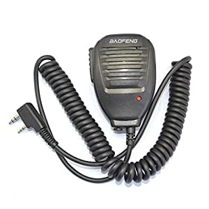 BAOFENG スピーカーマイク 手持ち トランシーバー/アマチュア無線機に対応 UV-5R
