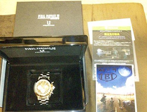 【新品】FFXV(FF15)機械式腕時計「Caelum」最終シリアル15/15 クロノグラフ Black(抽選販売) 検索用ロレックスデイトナ