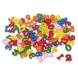 約100個 木製 カラフル 数字 子供 数学おもちゃ ギフト