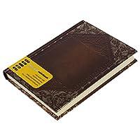 ノートブック,SODIAL(R)レトロ ビンテージ 個人のノートブック 日記 ジャーナルオーガナイザー ブック スクールオフィスでの使用 ダークブラウン 手帳