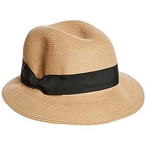 (アイディーハッツ)ID HATS Fisherhat パナマハット 16101018Bronte CAMEL X BLACK ONE