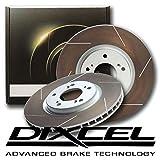 DIXCEL ディクセル ブレーキローター FSタイプ DAV形状(逆ベンチ) フロント用 (インプレッサ (GD/GG系) WRX STi GDB 04/06〜07/11 E型〜・(Brembo) PCD:114.3 )