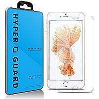 [HYPER GUARD]【第2世代】 交換保障 ブルーライトカット 92% 日本製 硝子使用 iPhone6s / iPhone6 対応 強化ガラスフィルム 極薄 0.33mm 3dタッチ 硬度9H ラウンドエッジ加工 クリア 保護フィルム 保護シート ガラスフィルム 国産 アイフォン6 アイフォン6S 15AC11-3-CLRvb