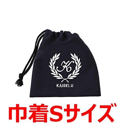 【追加用】巾着袋 濃紺 ロゴ葉 サイズS...