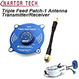 Triple Feed Patch-1 5.8G 9.4dBi Omni Directional Antenna Transmitter Receiver Antenna for Fat Shark FPV Video Glasses:PR-SMA, China