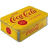 コカ・コーラ Coca-Cola - Logo Yellow/缶ケース 平缶 ブリキ缶