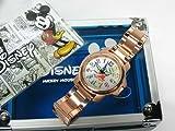 世界限定ミッキー誕生80周年記念! 【ディズニー腕時計】ミッキー ファンタジアウォッチ <ピンクゴールド>【並行輸入品】