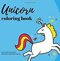 Unicorn Coloring Book: Fun and Stress Relieving Unicorn Coloring Pages (Unicorn Gifts) (Volume 6) [並行輸入品]