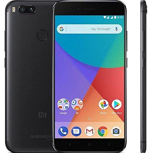 Xiaomi シャオミ Mi A1 4GB 64GB シムフリー スマホ Snapdragon625 5.5インチ液晶 4G LTE 3080mAh デュアルSIM(Black)
