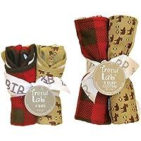 Trend Lab Northwoods 8-pc. Bib & Burp Cloth Set by Trend Lab