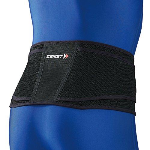 ザムスト(ZAMST) 腰 サポーター ZW-4 ゴルフ テニス Mサイズ  ブラック 383402
