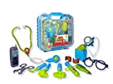 Durable Kids Doctor Kit with Electronic Stethos...