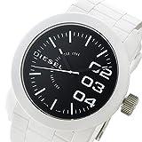 ディーゼル DIESEL ダブルダウン DOUBLE DOWN クオーツ メンズ 腕時計 DZ1778 ブラック/ホワイト