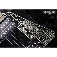 ギター ピックガード Epiphone(エピフォン)に対応 アルミニウム合金製 Hell Guitars オリジナルデザイン STAR CHASER