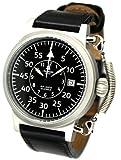 エアロマチック1912 腕時計 二戦 ドイツ 空軍 レトロ加工 復刻版 自動巻き A1330 [並行輸入品]
