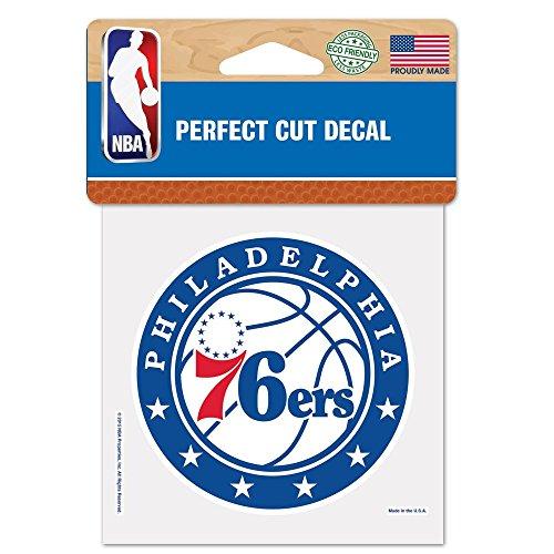 ステッカー NBA フィラデルフィア セブンティシクサーズ チームロゴ