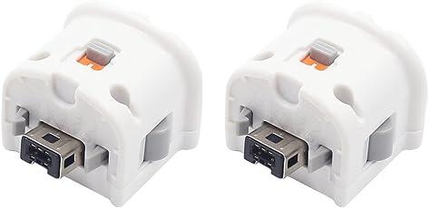 Yiteng Wii対応 アダプター リモコン用 外部センサー モーションプラスセンサーアダプター(2個)