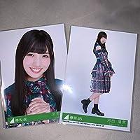 欅坂46 黒い羊 初回盤封入特典 生写真 河田陽菜 2枚コンプ